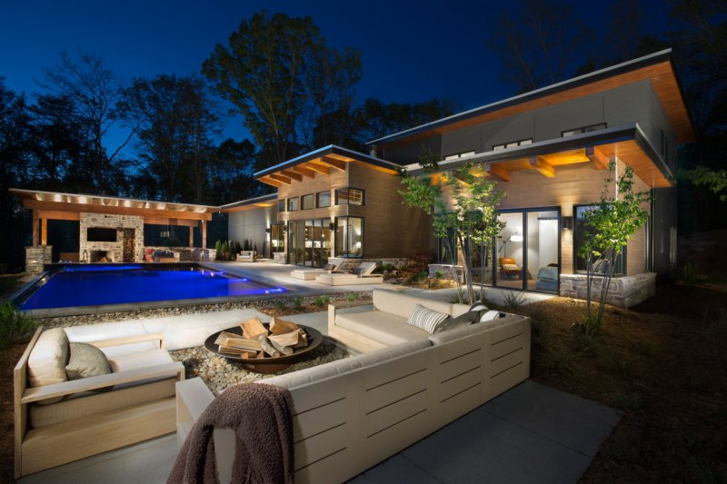 Mountain Rustic Modern Home – Award Winner!