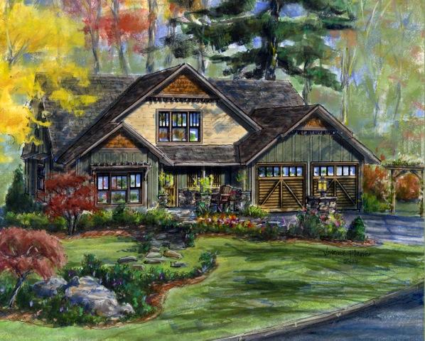 The Alexandra Cottage – semi-custom plan