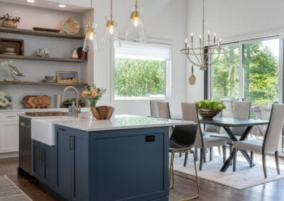 Living Stone Design+Build Cooper Kitchen and Dining