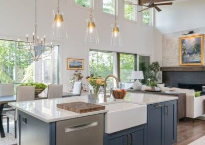 Living Stone Design+Build Cooper Modern Open Concept