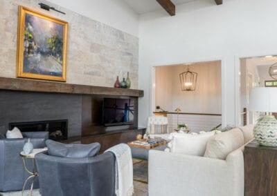 Living Stone Design+Build Cooper Living Room
