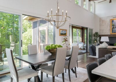 Living Stone Design+Build Cooper Dining Room