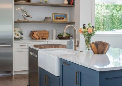 Living Stone Design+Build Cooper Residence Kitchen
