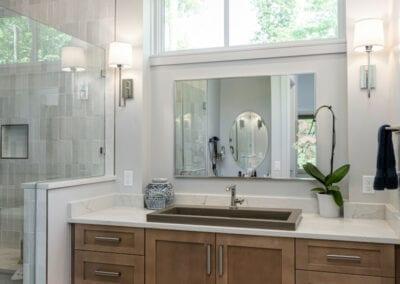 Living Stone Design+Build Cooper Modern Bathroom