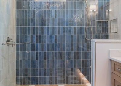 Living Stone Design+Build Cooper Contemporary Bathroom