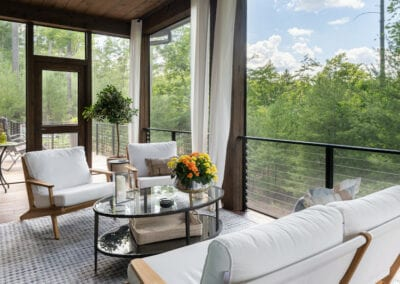 Living Stone Design+Build Cooper Screen Porch View