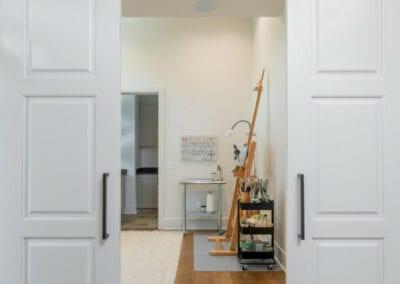 Living Stone Design+Build Cooper Interior Barn Doors