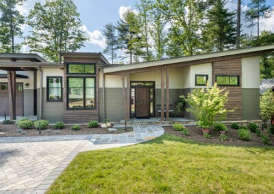 Living Stone Design+Build Cooper Front Lawn