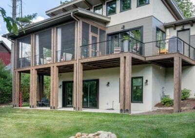 Living Stone Design+Build Cooper Back View