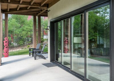 Living Stone Design+Build Cooper Pocket Doors