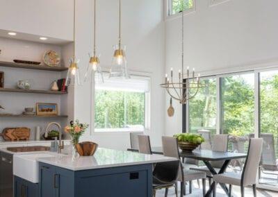 Living Stone Design+Build Modern Dining Area