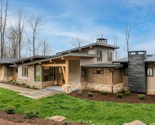 Living Stone Design+Build Modern Home