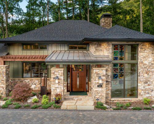Living Stone Design+Build Hillin-Guilbeau Front Door