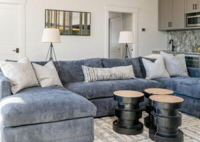 Living Stone Design+Build Logan Basement