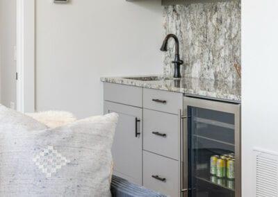 Living Stone Design+Build Logan Mini Bar