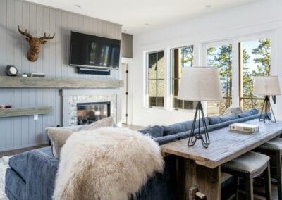 Living Stone Design+Build Logan Living Room Decor