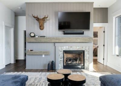 Living Stone Design+Build Logan Fireplace