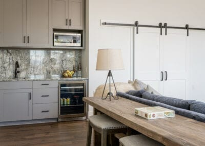 Living Stone Design+Build Logan Mini Fridge