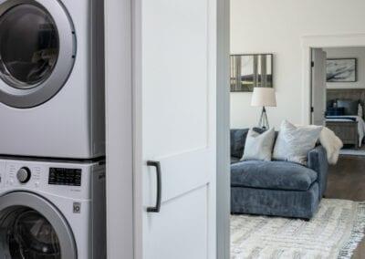 Living Stone Design+Build Logan Laundry Room