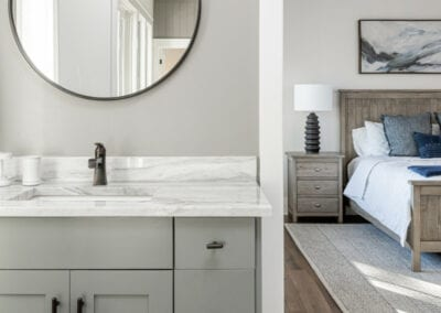 Living Stone Design+Build Logan Bathroom Mirror