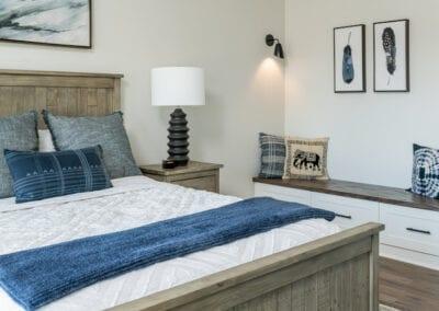 Living Stone Design+Build Logan Bedroom Nook