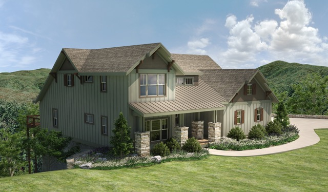 New Model Home in French Broad Crossing