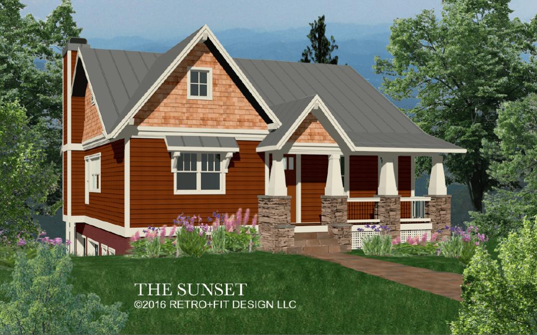 The Sunset Semi Custom Plan Living Stone Construction
