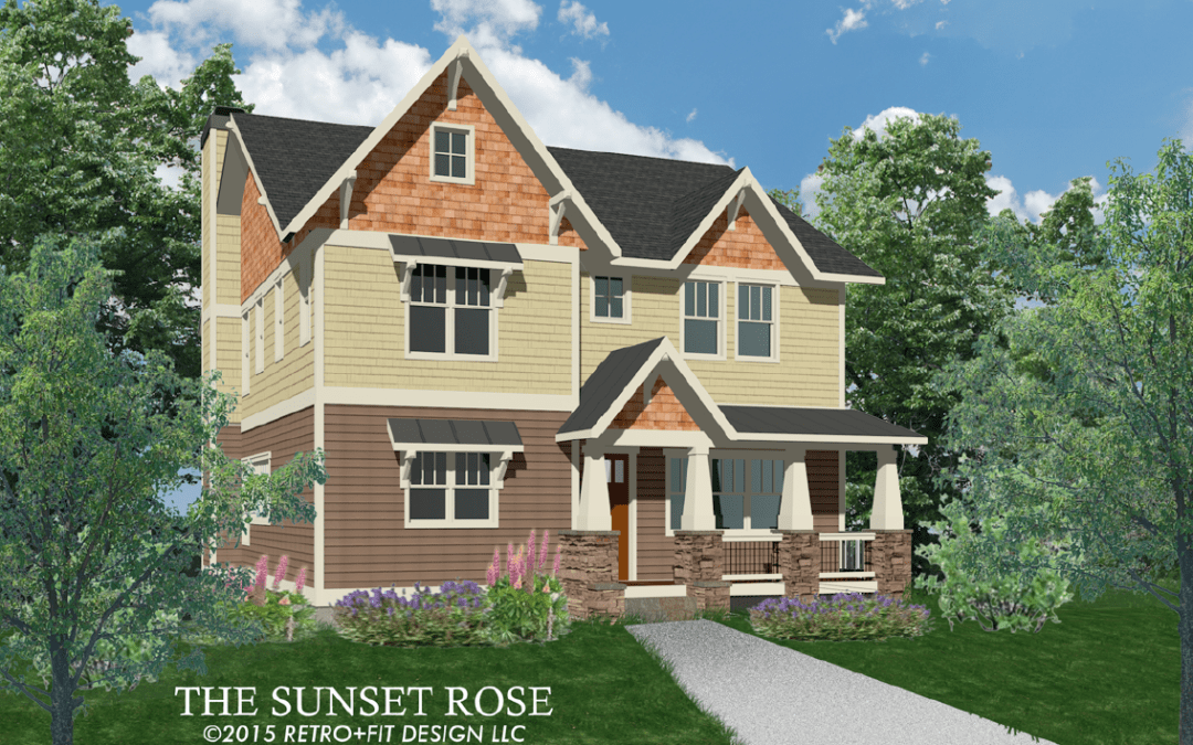 The Sunset Rose – 8 Mossy Rock Lane, Leicester NC 28748