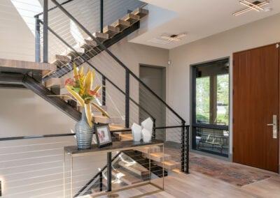 Living Stone Design+Build The Ramble Asheville front door