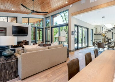 Living Stone Design+Build The Ramble Open Floor Plan