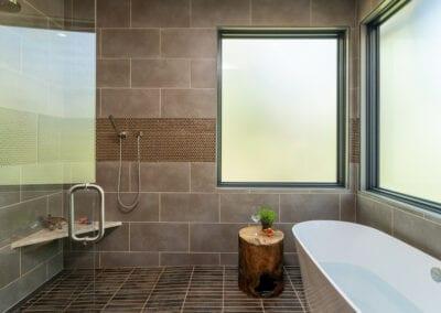 Living Stone Design+Build Walk In Shower