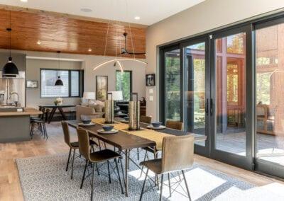 Living Stone Design+Build The Ramble Glass Doors