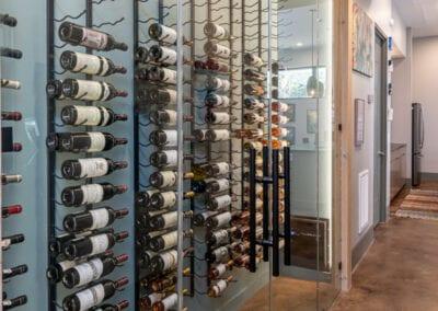 Living Stone Design+Build Wine Cellar