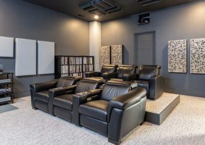 Living Stone Design+Build Home Theatre