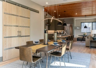 Living Stone Design+Build The Rambe Dining Chandelier