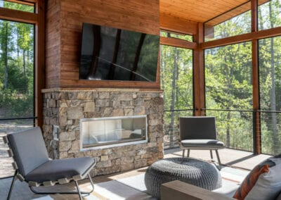Living Stone Design+Build The Ramble Porch Decor