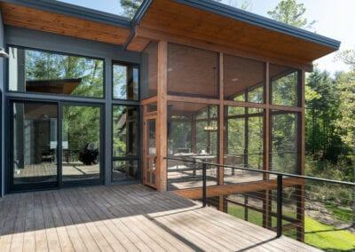 Living Stone Design+Build The Ramble Upper Deck