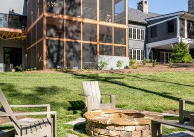 Living Stone Design+Build Back Yard