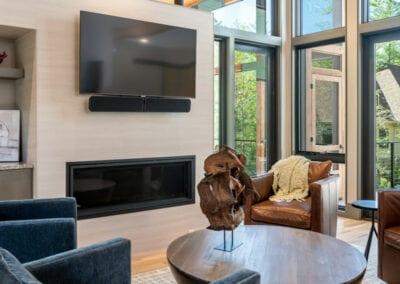 Living Stone Design+Build The Ramble Sitting Area