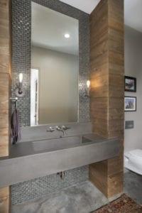 The Watkins Residence bathroom sink