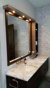 The Watkins Residence bathroom vanity