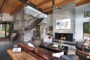 The Watkins Residence living room