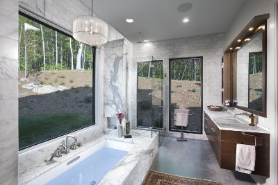 The Watkins Residence master bath