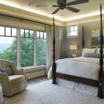 Black Mountain Craftsman bedroom
