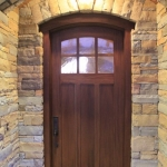 Black Mountain Craftsman front door