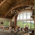 Black Mountain Craftsman living room