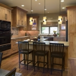 Black Mountain Craftsman kitchen