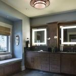 Black Mountain Craftsman bathroom