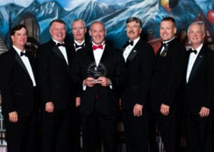 The Team With Our Award