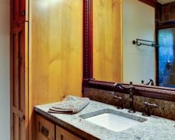 Craftsman bathroom sink